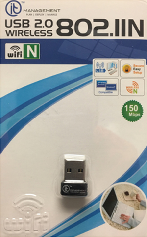 Free Wifi USB Adaptor